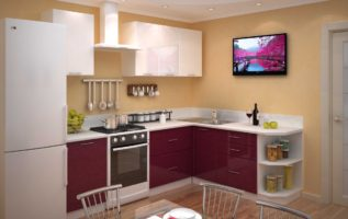 Как выбрать угловую кухню